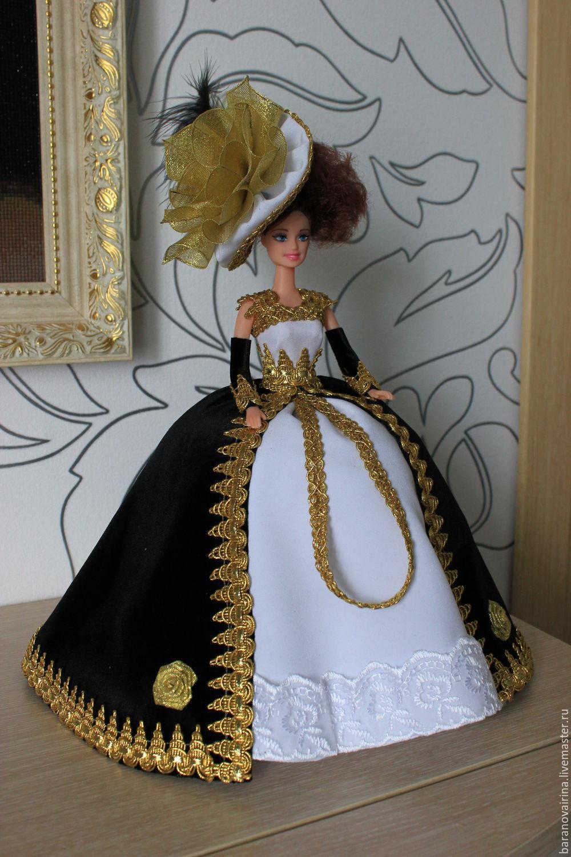 Кукла из атласных лент своими руками фото 403