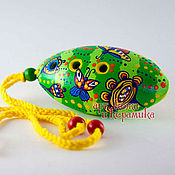 Музыкальные инструменты handmade. Livemaster - original item Hand-made clay Ocarina Tin whistle . Exclusive whistle. Handmade.