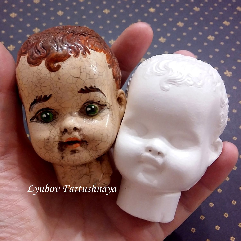 Как сделать молды для лица кукол своими руками