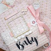 Подарки к праздникам ручной работы. Ярмарка Мастеров - ручная работа Альбом Baby бук для малышки. Handmade.
