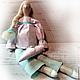 Куклы Тильды ручной работы. Ярмарка Мастеров - ручная работа. Купить В ожидании.... Handmade. Белый, тильда, интерьерная игрушка