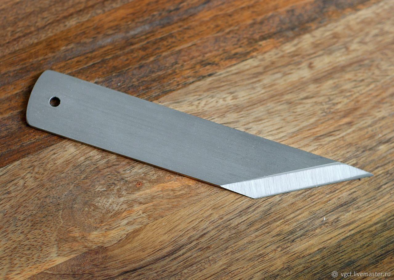 Нож косяк для кожи/сапожный нож – заказать на Ярмарке Мастеров – IIZURRU   Инструменты для работы с кожей, Москва