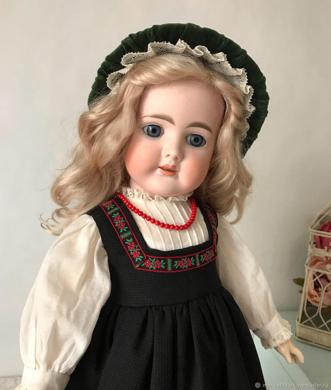 Комплект одежды для антикварной куклы, Одежда для кукол, Москва, Фото №1