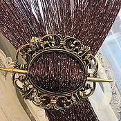 Для дома и интерьера handmade. Livemaster - original item Grabs. hair clips for curtains. Handmade.