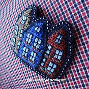Украшения ручной работы. Ярмарка Мастеров - ручная работа Цветной Городок 3. Handmade.