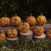Куклы и игрушки ручной работы. Ярмарка Мастеров - ручная работа Тыквы для Хэллоуина. Handmade.