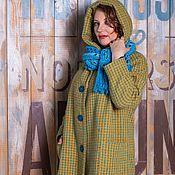 Одежда ручной работы. Ярмарка Мастеров - ручная работа Пальто демисезонное утепленное с капюшоном. Handmade.