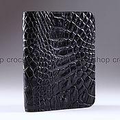 Канцелярские товары handmade. Livemaster - original item Cover for car documents leather crocodile IMA0248B55. Handmade.