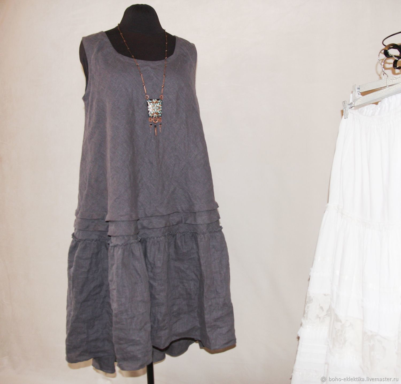 Linen dress summer, Dresses, Tomsk,  Фото №1