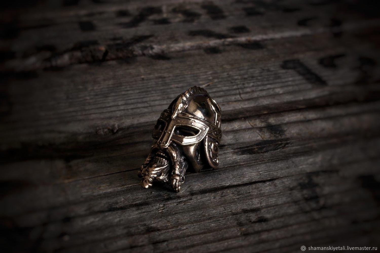Viking bronze bead ,bead for paracord, Knives, Volgograd,  Фото №1