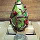 """Подарки на Пасху ручной работы. Ярмарка Мастеров - ручная работа. Купить Яйцо """"А Ля Фаберже"""" в керамике. Handmade. Разноцветный"""