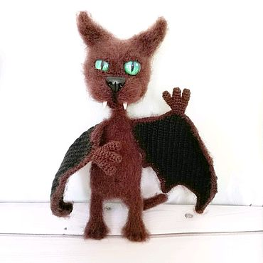 Куклы и игрушки ручной работы. Ярмарка Мастеров - ручная работа Летучий кот.. Handmade.