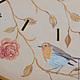 """Часы для дома ручной работы. Часы настенные """"Птички-бабочки"""". Юлия Фа Ручная роспись. Ярмарка Мастеров. Большие часы"""