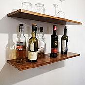 Для дома и интерьера handmade. Livemaster - original item Wall shelves made of natural wood with hidden mounting. Handmade.