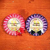 """Работы для детей, ручной работы. Ярмарка Мастеров - ручная работа Именные розетки """"Леди и Джентельмен"""". Handmade."""