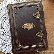 Канцелярские товары handmade. Livemaster - original item Great cookbook A4