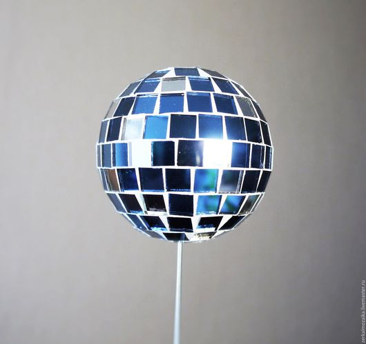 Украшения для цветов ручной работы. Ярмарка Мастеров - ручная работа. Купить Украшение для цветов Зеркальный шар. Handmade. Голубой