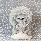 Куклы и игрушки ручной работы. Ярмарка Мастеров - ручная работа Ежик Морозовичков. Handmade.