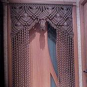 Для дома и интерьера ручной работы. Ярмарка Мастеров - ручная работа штора макраме арка. Handmade.