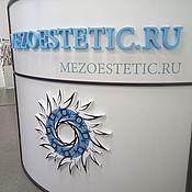 Вывески ручной работы. Ярмарка Мастеров - ручная работа Объемный логотип на стену в офис из пенопласта, пластика. Handmade.