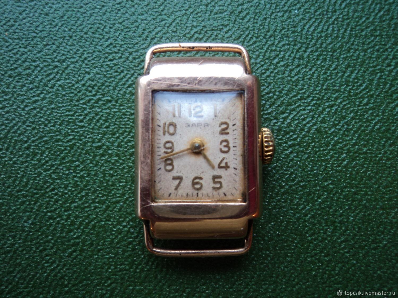 Женские золотые часы заря продать часов для в где ломбард рязани