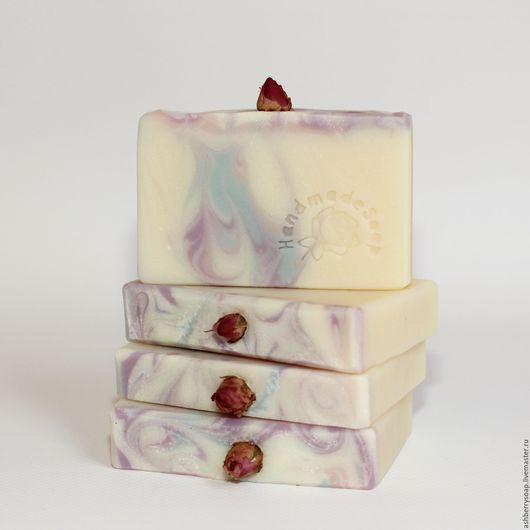 """Мыло ручной работы. Ярмарка Мастеров - ручная работа. Купить Натуральное мыло """"Северный цветок"""". Handmade. Комбинированный, мыло"""