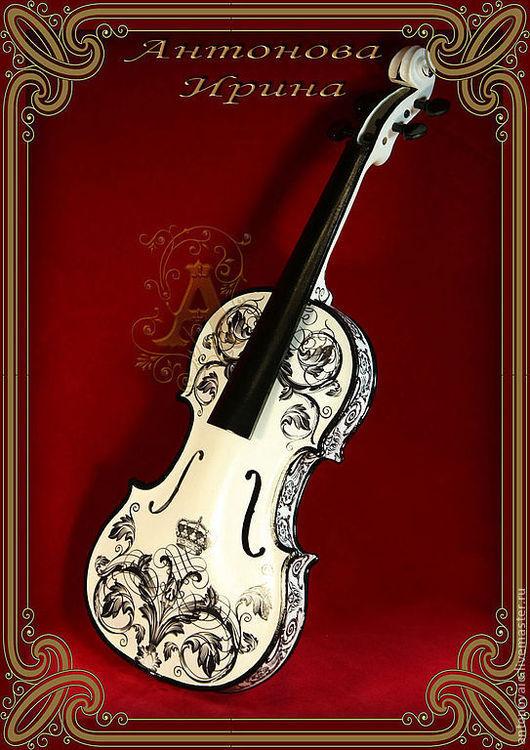 """Скрипка-""""Соло"""",для дома ручной работы.Антонова Ирина.Ярмарка Мастеров."""