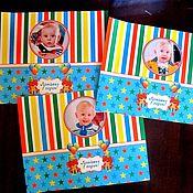 """Подарки к праздникам ручной работы. Ярмарка Мастеров - ручная работа Набор для дня рождения """"Мишка"""". Handmade."""