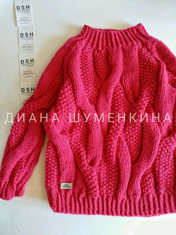 Knitted oversize sweater, Sweaters, Yoshkar-Ola,  Фото №1