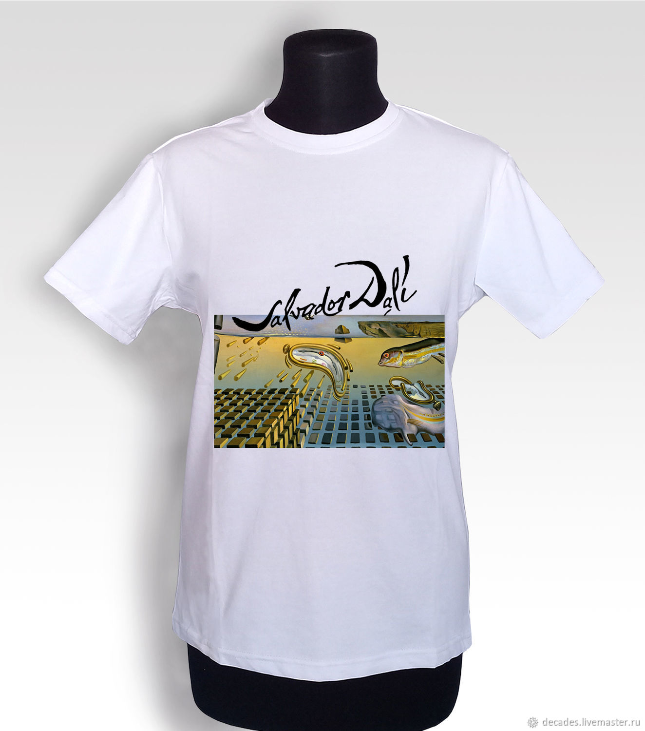 t-shirt: T-Shirt Time With. Dali №1, T-shirts, Moscow,  Фото №1