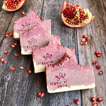 Cosmetics handmade. Livemaster - original item Silk soap handmade from scratch