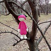 Куклы и игрушки ручной работы. Ярмарка Мастеров - ручная работа Игровая кукла Малинка. Handmade.
