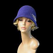 Аксессуары handmade. Livemaster - original item hats: The Cloche drops of dew. Handmade.