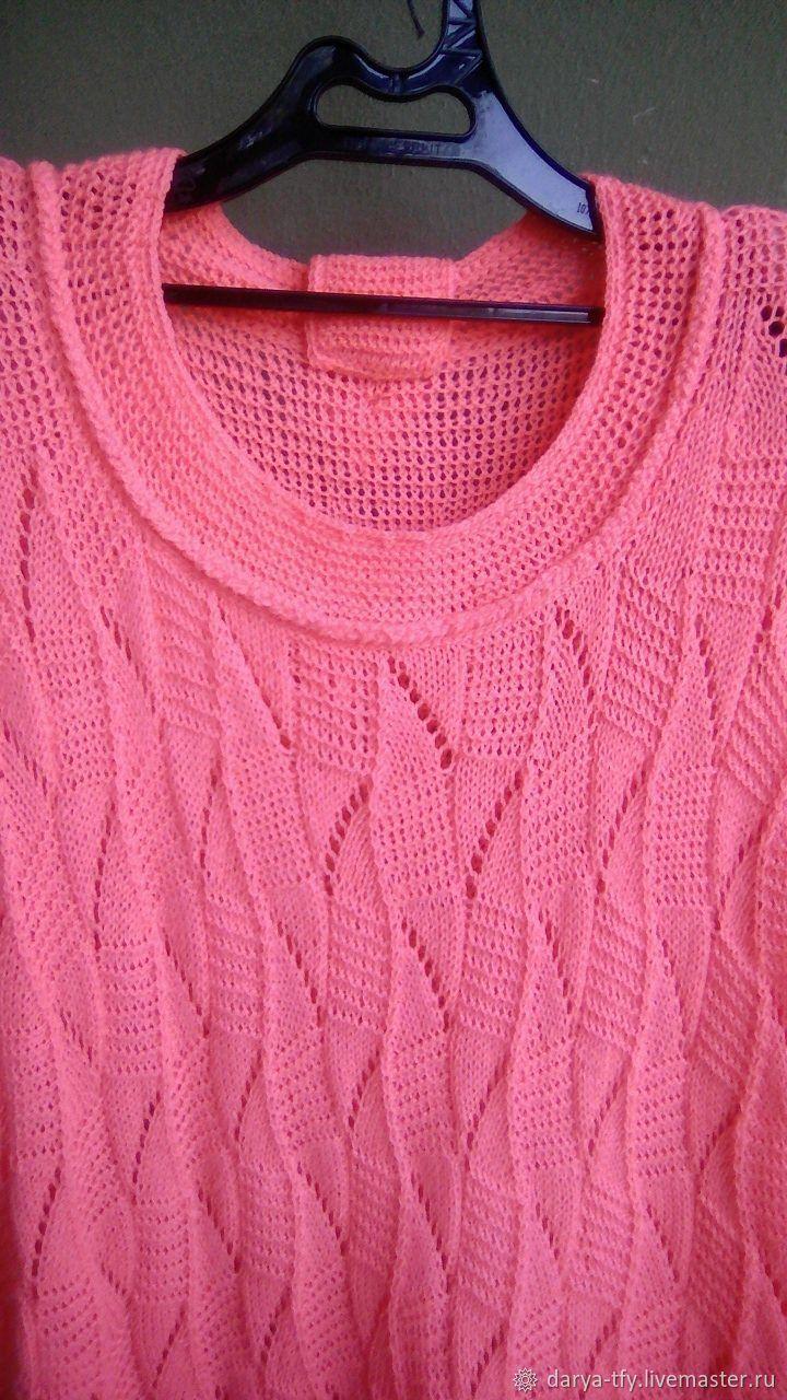 Пуловер коралл, Пуловеры, Буденновск,  Фото №1