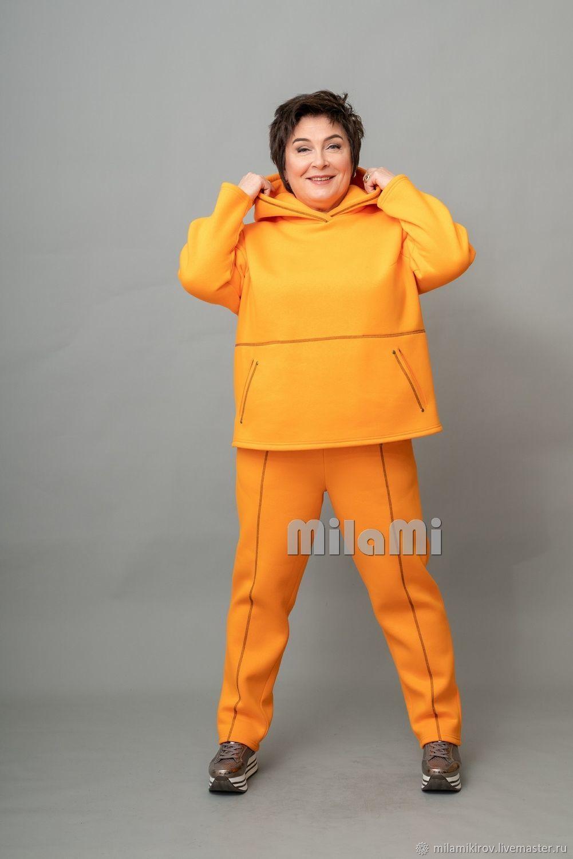 Art. .4818 Orange pants, Pants, Kirov,  Фото №1