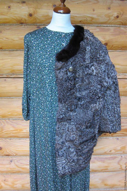 Верхняя одежда ручной работы. Ярмарка Мастеров - ручная работа. Купить КАРАКУЛЬ шубка-пиджак. Handmade. Комбинированный