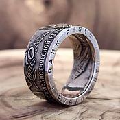 Украшения handmade. Livemaster - original item Ring from the 1 ruble coin of 1987 -