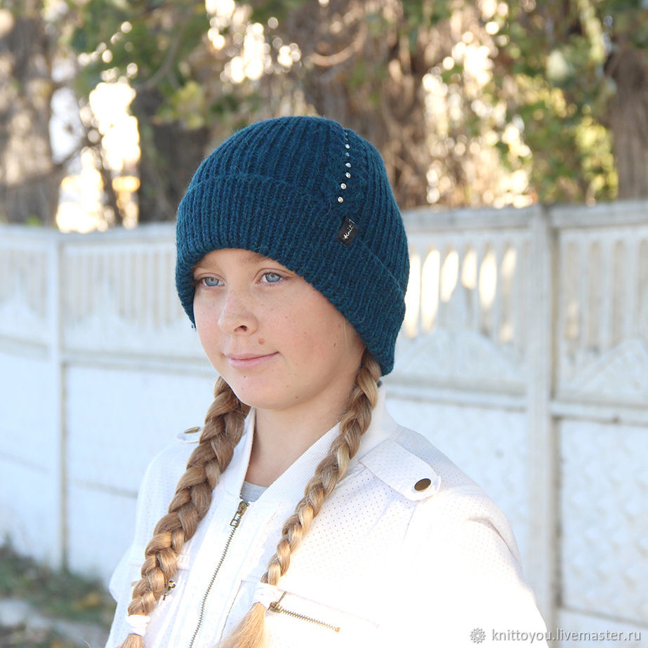 d7bc653cb19 Knitted hats children knitting – shop online on Livemaster with ...