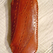 Сумки и аксессуары handmade. Livemaster - original item Leather eyeglass cases. Handmade.