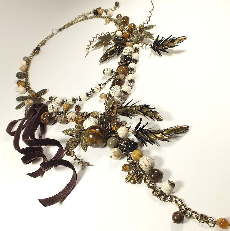 Intoxicated Vanilla. necklace, Necklace, St. Petersburg,  Фото №1