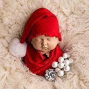 Аксессуары для фотосессии ручной работы. Ярмарка Мастеров - ручная работа Комплекты аксессуаров: комплект для фотосессии новорождённого. Handmade.