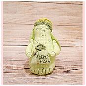 Куклы и игрушки ручной работы. Ярмарка Мастеров - ручная работа Ароматный зайка засыпайка с лавандой. Handmade.