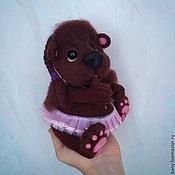 """Куклы и игрушки ручной работы. Ярмарка Мастеров - ручная работа По мотивам """" медвежонок Нюша"""". Handmade."""