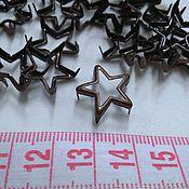Материалы для творчества ручной работы. Ярмарка Мастеров - ручная работа украшение на шипах звезда цвет медь 1,5 см. Handmade.