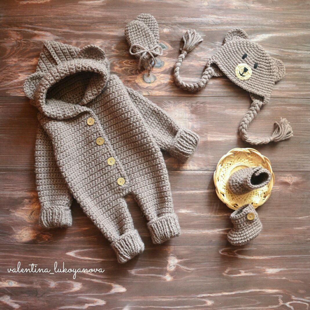 Комбинезоны для новорожденных мастер класс