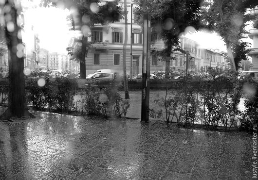LuStyle. Авторская фоторабота `Дождливый день`, Флоренция, 2014