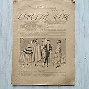Винтаж handmade. Livemaster - original item Magazine Ladies ` world, № 4 1916, without application. Handmade.