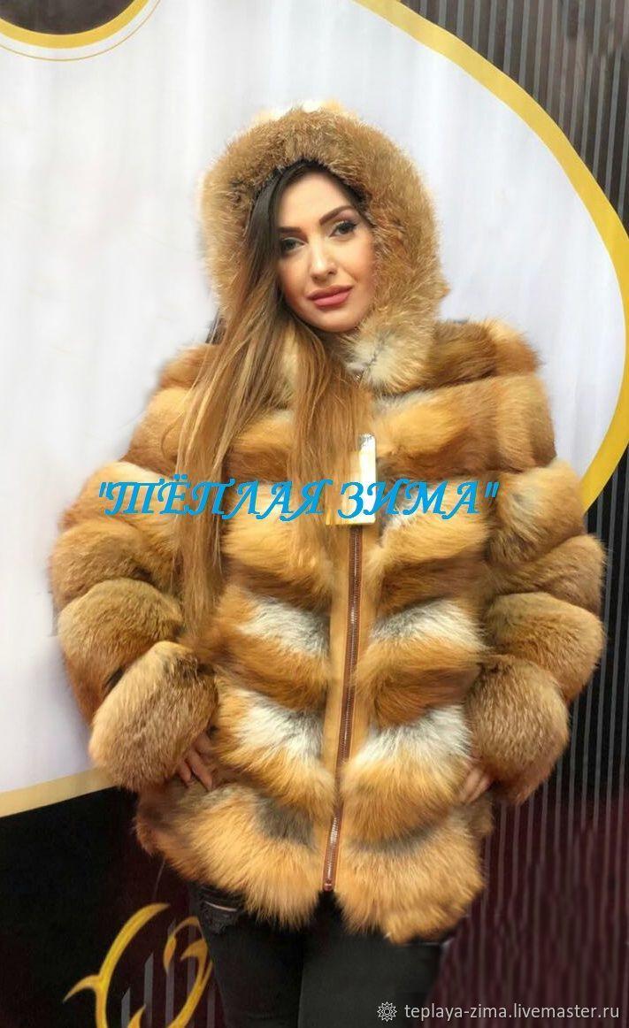 Fox fur coat hooded, Fur Coats, Mozdok,  Фото №1