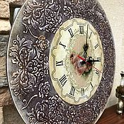 Часы классические ручной работы. Ярмарка Мастеров - ручная работа Часы Rose.. Handmade.