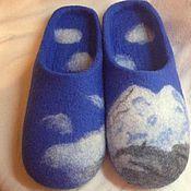 """Обувь ручной работы. Ярмарка Мастеров - ручная работа Тапочки """"Эльбрус"""". Handmade."""
